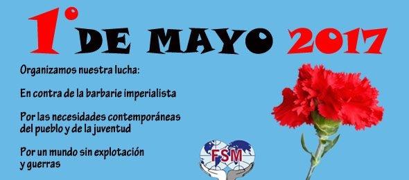 """El Partido Comunista Obrero Español suscribe el comunicado de la Federación Sindical Mundial ante el Día Internacional del Trabajo:  """"Pero si creéis que ahorcándonos podéis contener el movimiento obrero, ese movimiento…"""