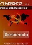 Cuadernos para el debate – Nº 1 – Democracia  {module [201|rounded]}…