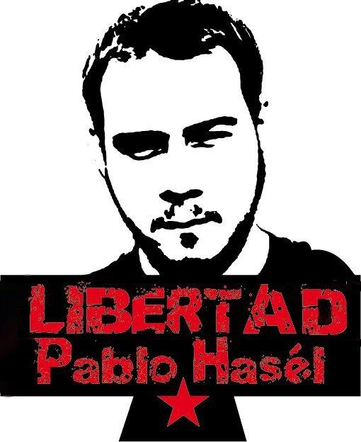 """El próximo 10 de Marzo será juzgado por la Audiencia Nacional el cantante Pablo Hasel, por """"apología al terrorismo"""". Resulta vil e indignante, que leyes construidas por partidos que son…"""