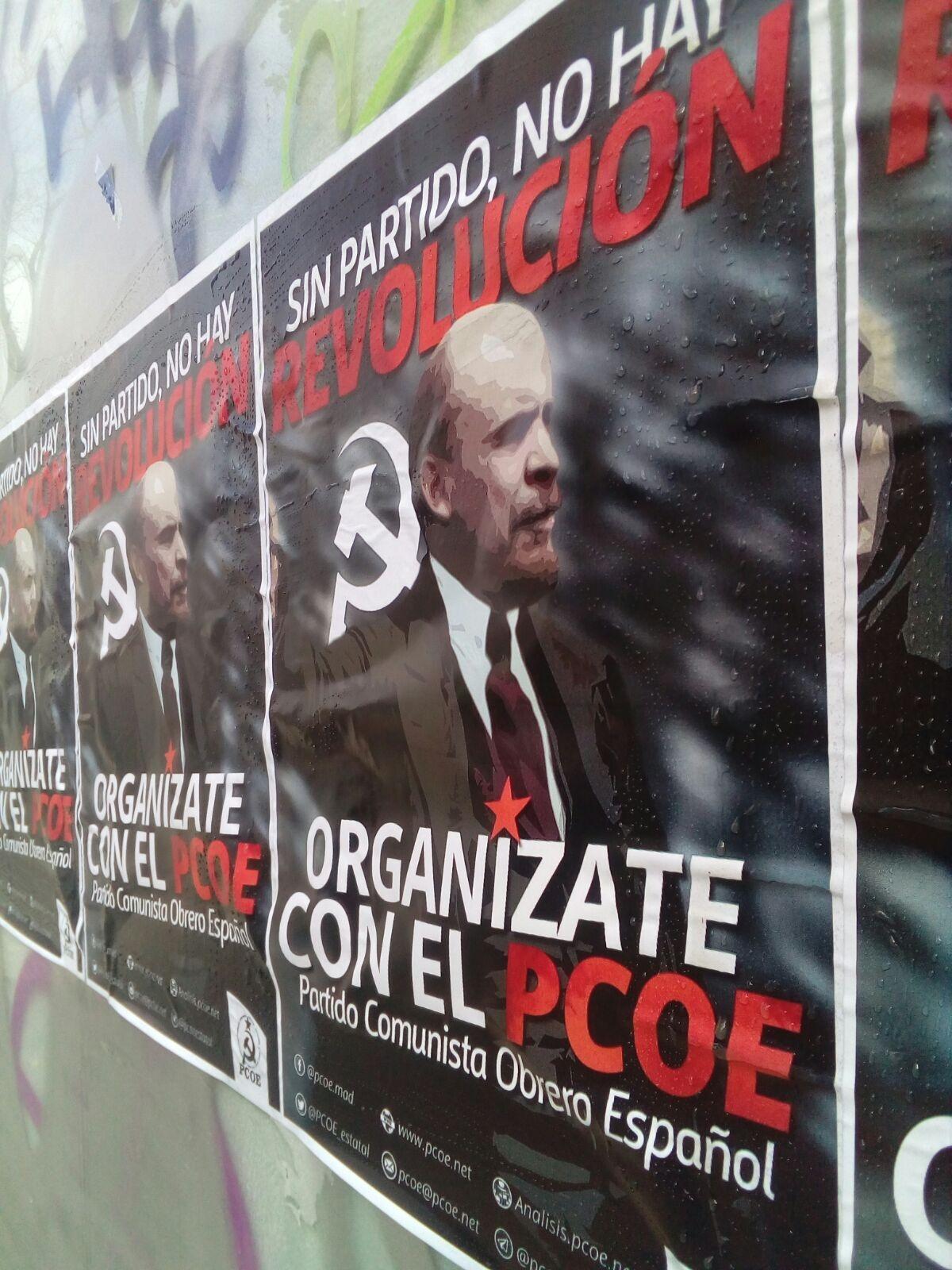 El Partido Comunista Obrero Español en Madrid quiere explicar a la clase obrera de la capital y del resto del Estado los tristes acontecimientos de ayer en el barrio de…