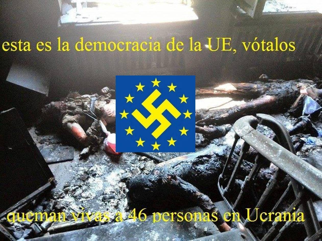 El pasado día 2 de mayo fueron quemados vivos al menos 46 sindicalistas, muchos de ellos, militantes del Partido Comunista de Ucrania, y otros 200 fueron heridos en la ciudad…