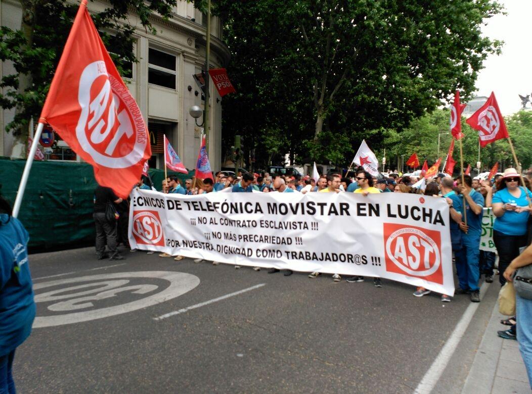 Una lucha titánica contra la mayor multinacional del estado español, medios de comunicación y sindicatos al servicio de la patronal. Así es como se define el esfuerzo que están llevando…