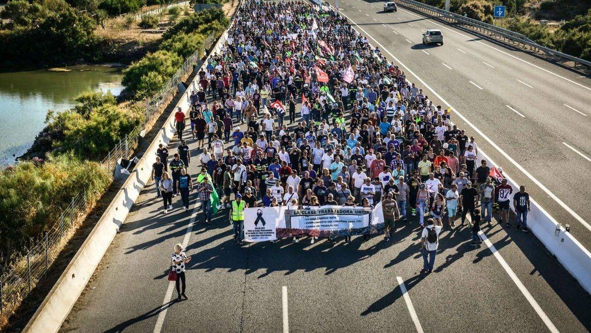 La Coordinadora de Profesionales del Metal de la Bahía de Cádiz convocó una huelga y una manifestación el día 13 de junio para exigir el fin de la precariedad en…