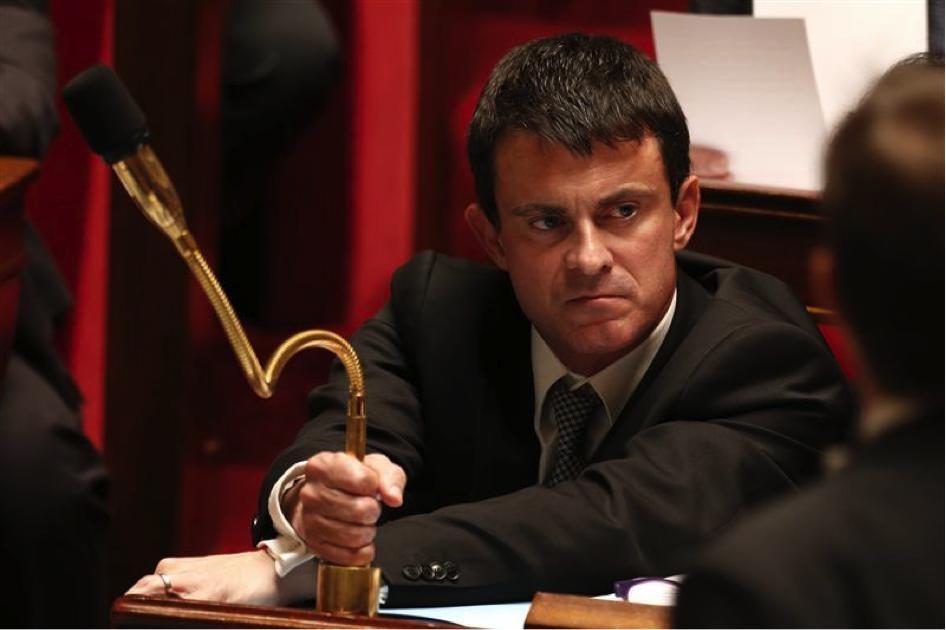 """El flamante primer ministro francés Manuel Valls, hijo de emigrantes españoles, aplica la única política posible que le dictan los capitalistas franceses para """"salir"""" de la crisis: reducir el gasto…"""