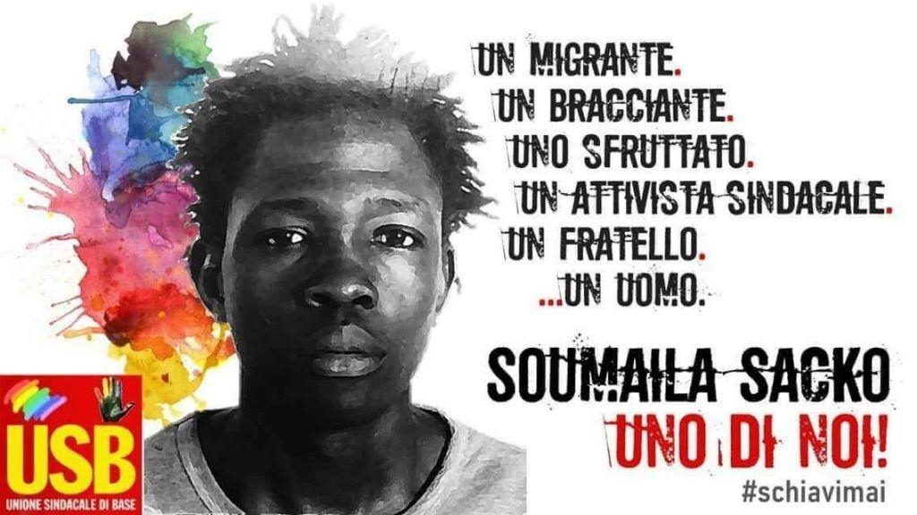 El ascenso del fascismo italiano de Liga Norte al Gobierno se cobra su primera víctima, Soumaila Sacko, un migrante y sindicalista italiano militante de la Unione Sindicale di Base-sindicato adherido…