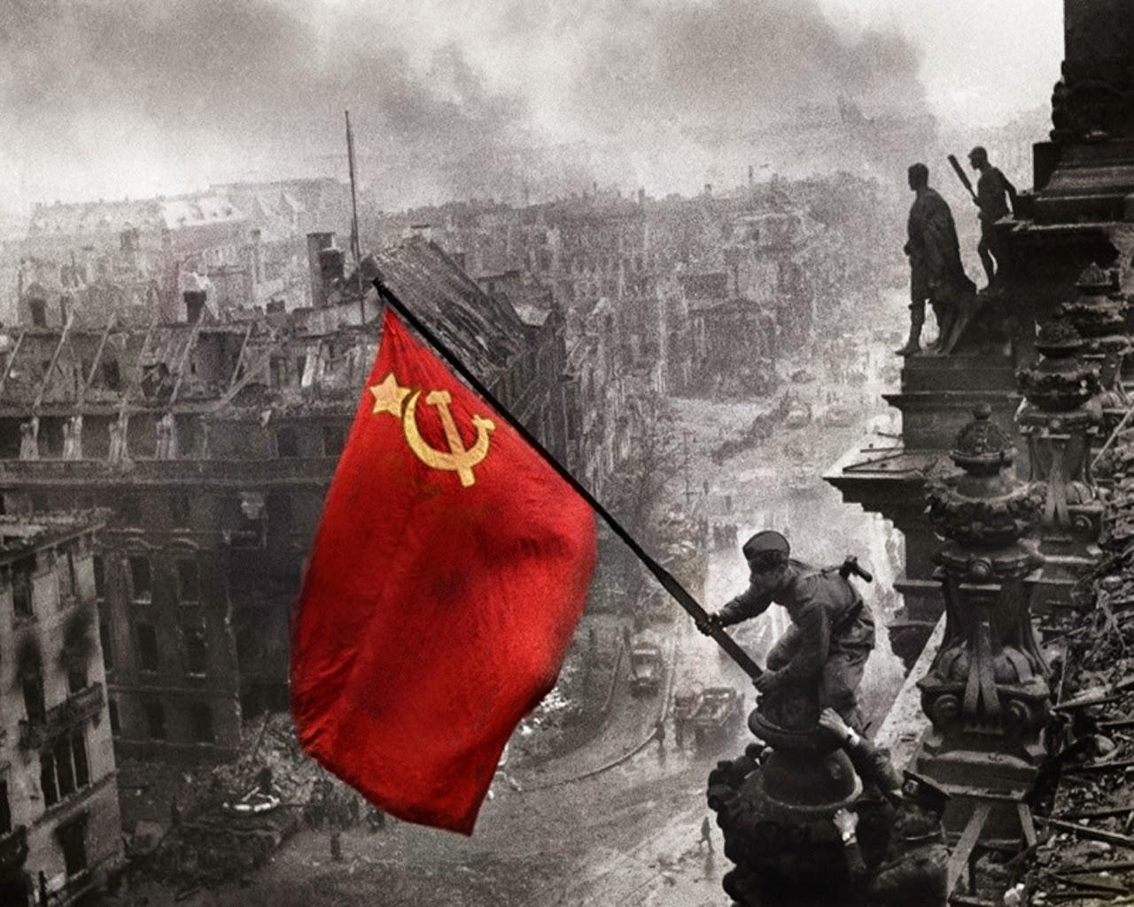 El PCOE saluda y honra la memoria de todos los millones de soviéticos que dieron su vida para limpiar Europa del fascismo asesino que la anegó en sangre. La URSS…