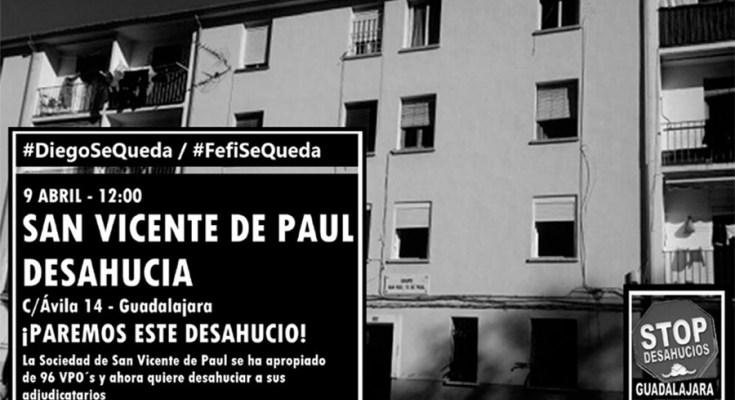 Desde el Comité Provincial del PCOE en Guadalajara, queremos trasladar nuestro incondicional apoyo a los vecinos del barrio del Alamín, víctimas de las órdenes de desahucios perpetradas por la Sociedad…