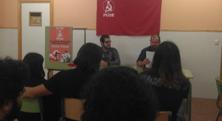 El pasado sábado 24 de noviembre tuvo lugar en la barriada cordobesa de Fátima un acto organizado por el Partido Comunista Obrero Español (PCOE) con ocasión de la campaña electoral…