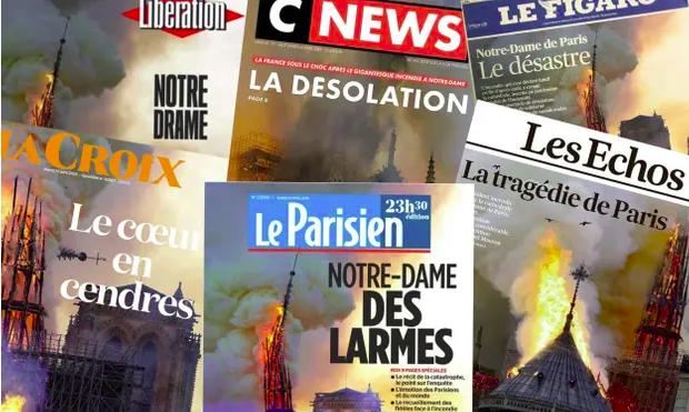 Una parte de la catedral de Notre Dâme de París ha ardido provocando la angustia de los multimillonarios del mundo entero, que a través de sus medios de comunicación mientan…