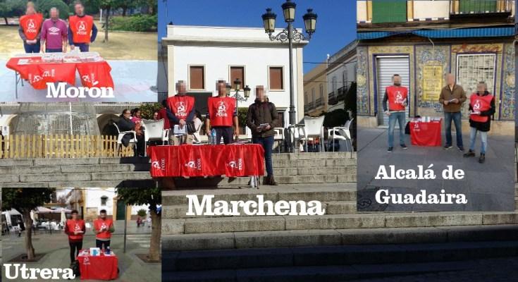 La clase obrera de Alcalá de Guadaira, Marchena, Utrera y Morón de la Frontera están de enhorabuena porque las ideas comunistas han vuelto después de muchos años huérfanos de ellas,…