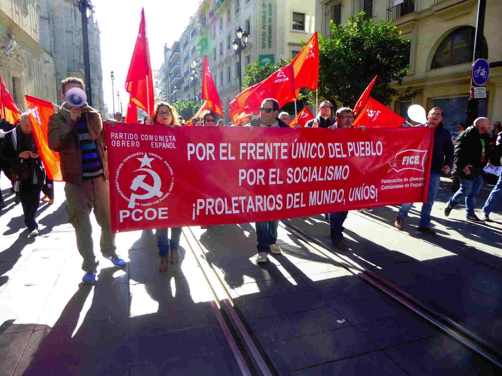 El PCOE ha acompañado hoy a la clase obrera andaluza que ha llenado las calles de Huelva, Málaga, Sevilla y Granada desbordando las previsiones de los propios organizadores. Decenas de…