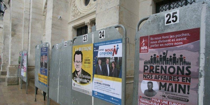 En Francia, como en el resto de países capitalistas, la democracia es un show de colorido y una amalgama de frases vacías con cientos de candidatos postulados por ellos mismos…