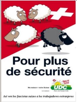 La Unión Democrática del Centro (antiguo Partido de los Campesinos, Artesanos y Burgueses) que representa a la burguesía más reaccionaria de Suiza ha conseguido que se apruebe su propuesta de…