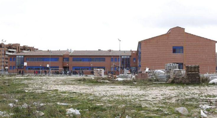 Obras de ampliación en el instituto de San Chinarro