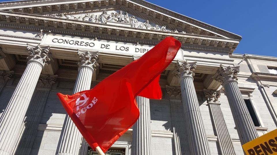 El Partido Comunista Obrero Español acudió el pasado 22 de febrero a la convocatoria en Madrid en defensa de las pensiones de los trabajadores y trabajadoras. Los pensionistas demostraron su fuerza…