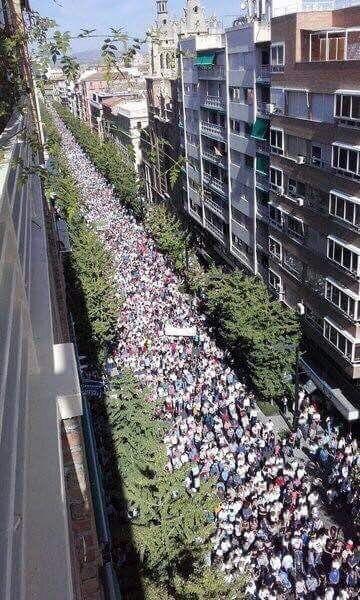 Nuestro partido ha participado en las manifestaciones celebradas en el día de ayer en Andalucía contra el proceso de privatización de la Sanidad Pública, que llevan a cabo al unísono…