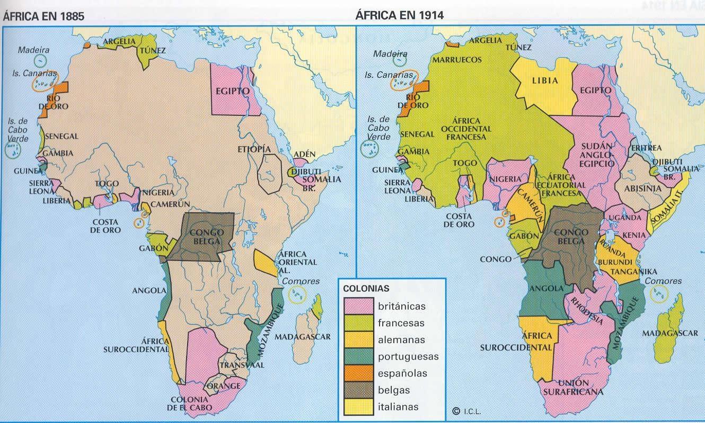 La situación actual en África es heredera de su reparto por las potencias imperialistas de la época. Una lucha por las materias primas y el mercado que cada monopolio, a…