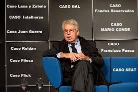 """""""Felipe González, el sevillano, parece apasionado pero es frío. Hay en él algo falso, engañador. No me ha parecido un hombre de ideales, sino de ambiciones"""" Miguel Paredes (Comandante del SECED,…"""