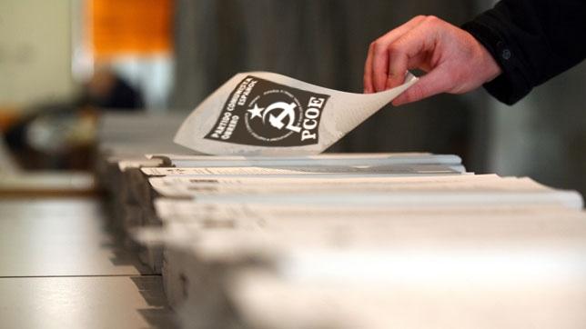 Reunido en Madrid el pleno del comité ejecutivo decide que, en atención a lo mandatado por el XVº Congreso, el partido se presente a las elecciones generales a celebrar el…