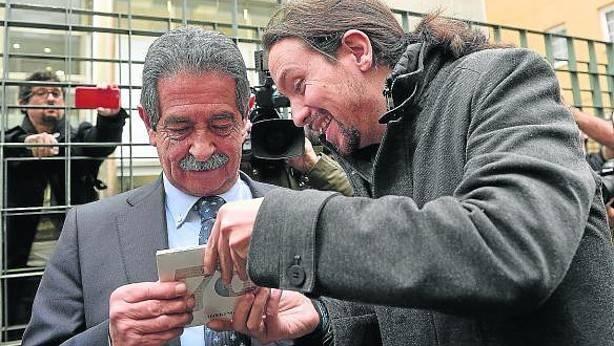 """El día 27 de octubre, el líder de la formación Podemos, Pablo Iglesias, se reunió con el Presidente de Cantabria. Aquellos que """"iban a asaltar los cielos y a acabar…"""