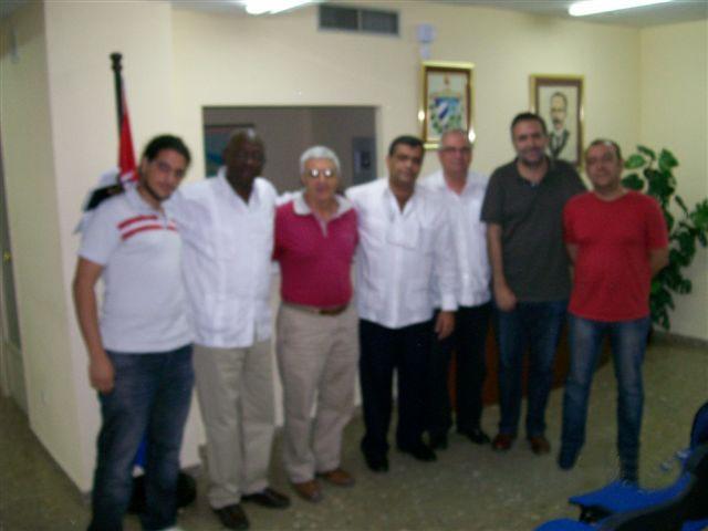 A propuesta de los compañeros cubanos, el pasado lunes día 23 de septiembre, tuvo lugar un encuentro bilateral entre funcionarios del Comité Central del Partido Comunista de Cuba y una…