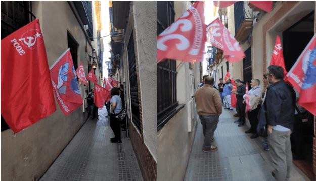 Ayer viernes se llevó a cabo una acción coordinada a nivel internacional por la Federación Sindical Mundial (FSM) en respuesta a la represión sufrida por un trabajador danés que participa…